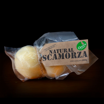 Scamorza Cheese ± 200gr/Pack